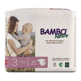 BAMBO Nature Dream Baby Diaper Size 3 33 Pieces