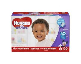HUGGIES Little Movers Baby Diaper Size 6 120 Pieces