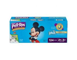 HUGGIES Pull-Up Training Pant for Boy 2T-3T 124 Pieces