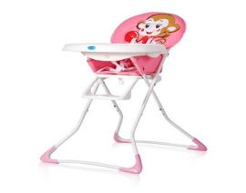 BABY High Chair Monkey Pink