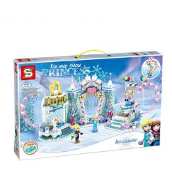 XINGBAO Ice And Snow Princess Building Block-sy1457