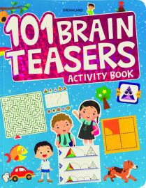 DREAMLAND BOOK 101 Brain Teasers Activity Book
