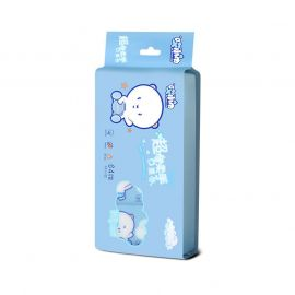AI XIAO JIN Baby Cleansing Wipes - Blue