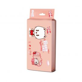 AI XIAO JIN Baby Cleansing Wipes - Pink