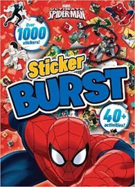 MARVEL ULTIMATE Spider-Man Sticker Burst - Over 1000 Stickers!