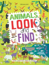 DREAMLAND BOOK Animals Look And Find