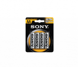 SONY AA size 4-pc Blister Pack SUM3-NUB4A
