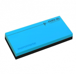PROMATE Premium Lithium Polymer 12000mAh Backup Battery with Dual USB ports for Smartphones & Tablets, Blue