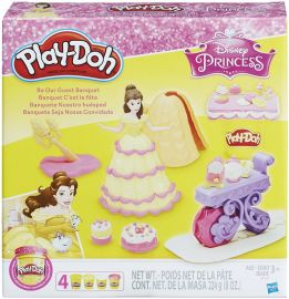HASBRO Play-Doh Disney Princess Be Our Guest Banquet