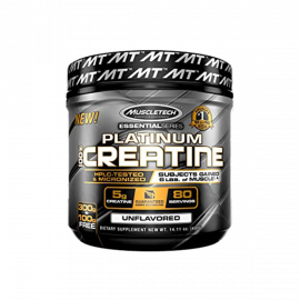 MUSCLETECH Platinum Creatine Unflavored 80 Servings