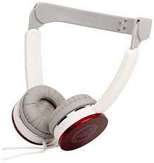 CLIPTEC Headphone BMH708 - Red