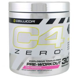 CELLUCOR C4 Zero Pre-Workout Powder - Pink Lemonade (30 Servings)