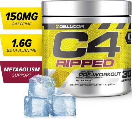 CELLUCOR Cellucor C4 Ripped Pre-workout Powder - Ultra Frost (30 Servings)