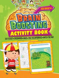 DREAMLAND BOOK Brain Boosting - Find The Difference (AGE 4+)