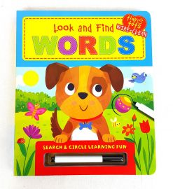 LOOK AND FIND: WORDS Search & Circle Learning Fun