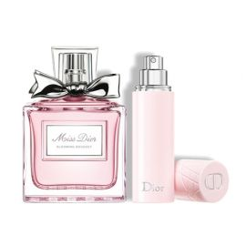 DIOR Miss Dior Blooming Bouquet Eau De Toilette Natural Spray 100ml and Travel Refillable Spray 10ml