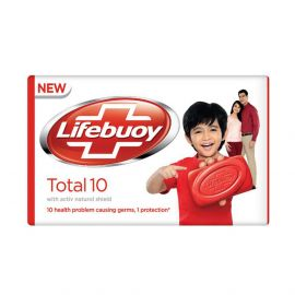 LIFEBOUY Total 10 Red with Active Natural Shield Bar Soap - 110g