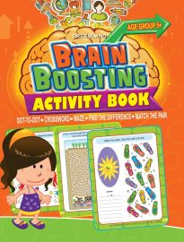 DREAMLAND BOOK Brain Boosting - Maze (AGE 5+)