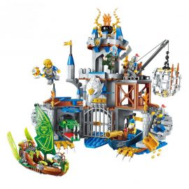 QMAN The War of Glory Flying Eagle Castle Building Block - 2315