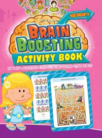 DREAMLAND BOOK Brain Boosting - Dot To Dot (AGE 7+)