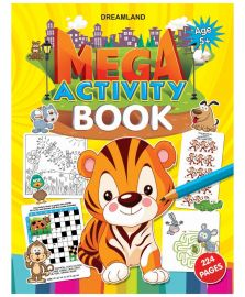DREAMLAND BOOK Mega Activity Book (5+)