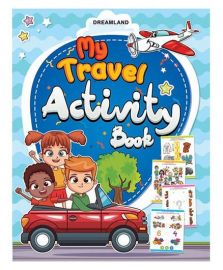 DREAMLAND BOOK My Travel Activity Book
