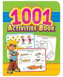 DREAMLAND BOOK 1001 Activities Book