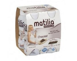 MATILIA Grossesse Chocolate Drink Pack 200ml 4 Pieces