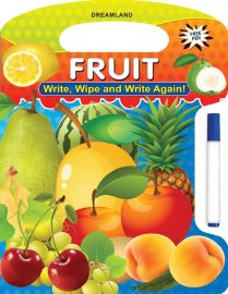 DREAMLAND BOOK Write, Wipe & Again - Fruit
