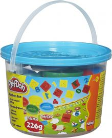 HASBRO Play-Doh Numbers Fun Bucket