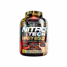 MUSCLE TECH Whey Gold French Vanilla Creme 5.5lbs