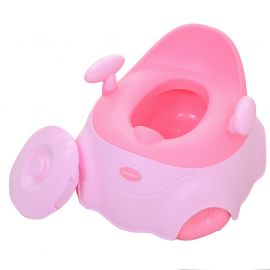 HAOYIDIAN Baby Potty for Toilet Training in Car Design XD-803 - Pink