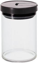HARIO Coffee Canister, Size M, Black