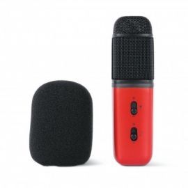 CHANGBA C1 Microphone - Red, Black