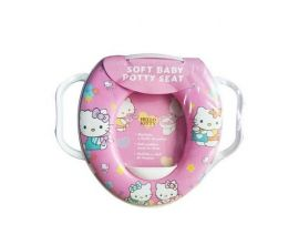 SOFT BABY Potty Seat for Toilet Training with Hello Kitty Print