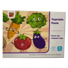 Vegetable Puzzle 250mmx175mm