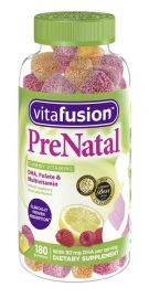 VITAFUSION Prenatal Gummy Vitamins, 180 Count