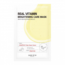 SOME BY MI Real Vitamin Brightening Care Mask (ម៉ាសបិតមុខ) - 1 Sheet