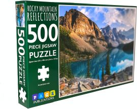 PAGE PUBLICATION Rocky Mountain Reflection Jigsaw Puzzle - 500 Pieces