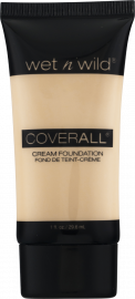 WET N WILD CoverAll Creme Foundation - Fair/Light