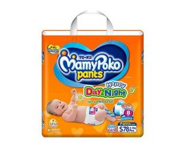 MAMYPOKO Day and Night Diaper Pant S 78 Pieces