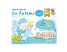LITTLE RYAN Mos Away Baby Anti-Mosquito Patch 20 Pieces