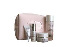 DIOR Capture Totale Cell Energy Set with Cosmetic Bag - 4 Pieces