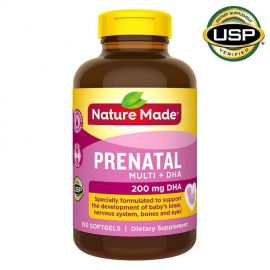 NATURE MADE Prenatal Multi + DHA, 150 Softgels