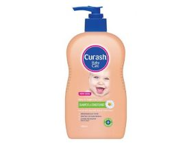 CURASH Baby Care 2 In 1 Shampoo And Conditioner 400ml