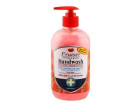 FRUISER Hand Wash Moisturising For Smooth Silky Clean Hand Strawberry 500ml