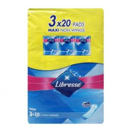 LIBRESSE Maxi Non Wings - 3x20 Pads