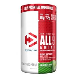 DYMATIZE All 9 Amino - Jolly Green Apple 30 Servings