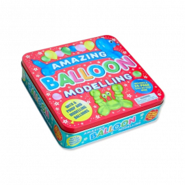 Amazing Balloon Modelling Tin Creative Fun Box (with Balloons Modelling & Pump)