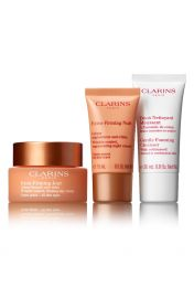 CLARINS Extra Firming Jour 50ml, Extra Firming Nuit 15ml, Gentle Foaming Cleaner 30ml